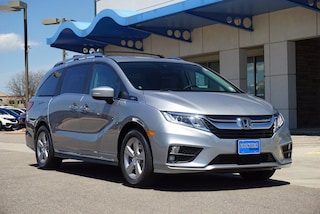 New 2020 Honda Odyssey EX-L w/Navi & RES Van 5FNRL6H78LB040089 for sale in Longmont, CO