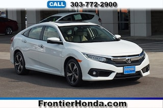 New 2018 Honda Civic Touring Sedan JHMFC1F91JX024814 for sale in Longmont, CO