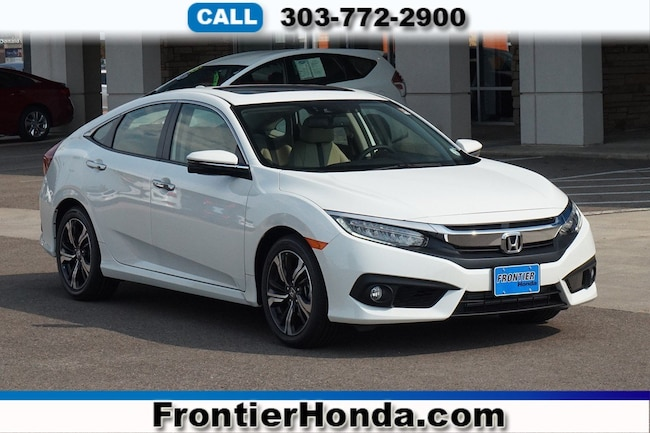 New 2018 Honda Civic Touring Sedan For Sale /Lease Longmont, Colorado