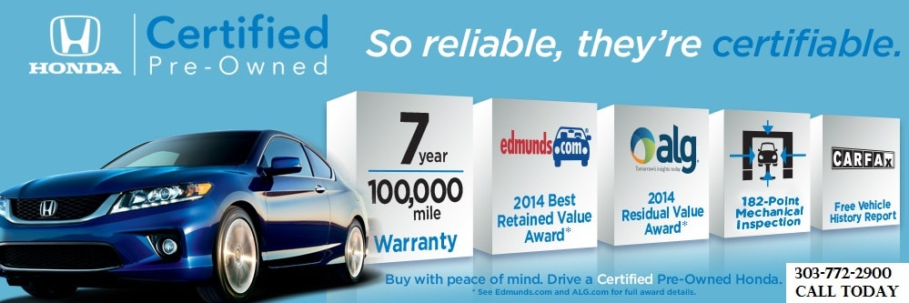 Amazing Honda Certified Specials Cars, Trucks, Mini Vans U0026 SUVs Longmont, Boulder,  Denver Area CO. Honda Certified ...