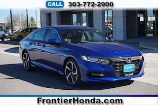 New 2018 Honda Accord Sport Sedan 1HGCV1F36JA152643 for sale in Longmont, CO