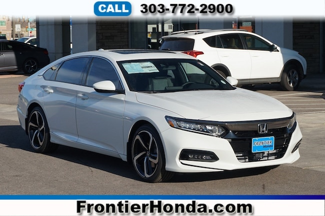 New 2018 Honda Accord Sport 2.0T Sedan For Sale /Lease Longmont, Colorado