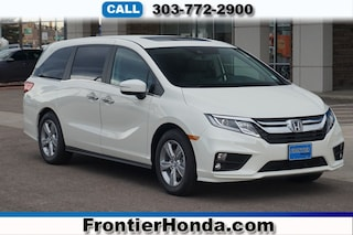 New 2019 Honda Odyssey EX-L Van 5FNRL6H71KB050185 for sale in Longmont, CO