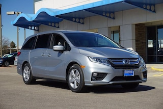 New 2020 Honda Odyssey EX-L w/Navi & RES Van 5FNRL6H74LB038856 for sale in Longmont, CO