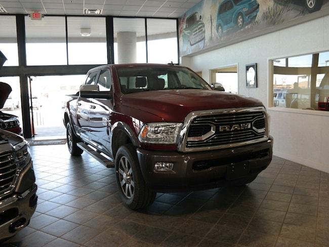 New 2018 Ram 2500 LARAMIE LONGHORN CREW CAB 4X4 6'4 BOX Crew Cab El Reno, OK