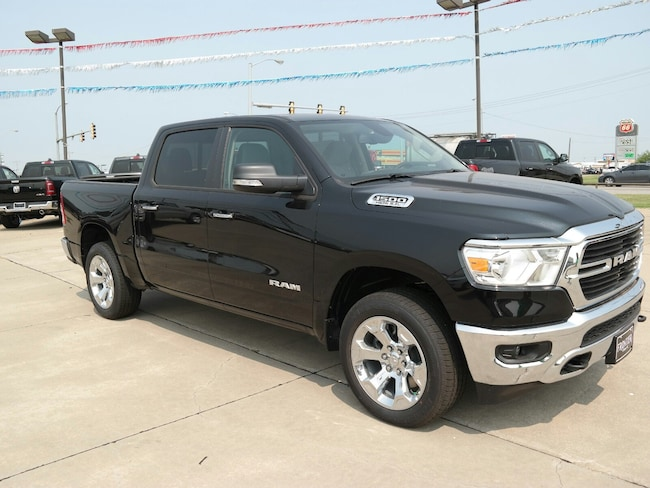 new 2019 ram 1500 for sale el reno ok vin 1c6srfft1kn593240. Black Bedroom Furniture Sets. Home Design Ideas