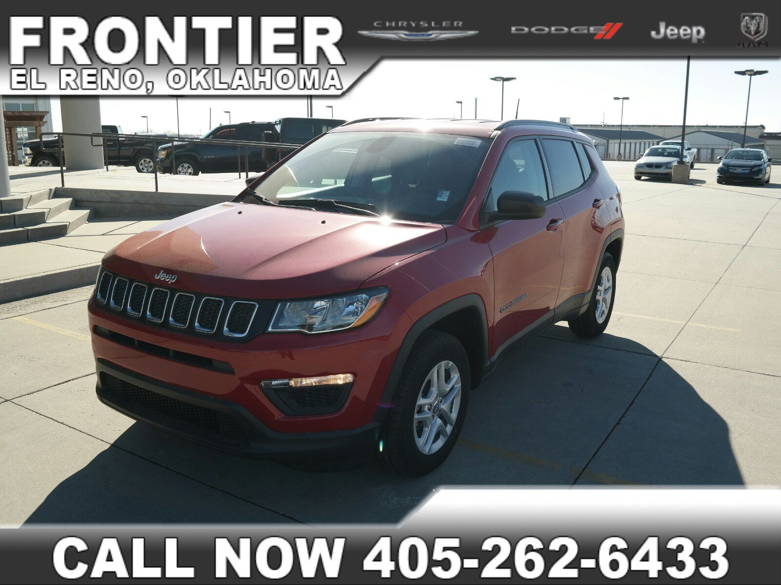 2018 Jeep Compass SPORT FWD Sport Utility For Sale in El Reno, TX