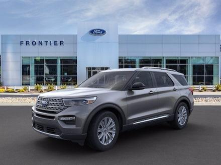 2021 Ford Explorer Limited SUV 1FM5K8FW8MNA04506