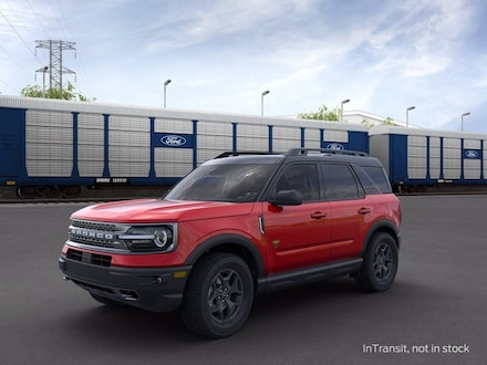 2021 Ford Bronco Sport Badlands SUV 3FMCR9D98MRA47987