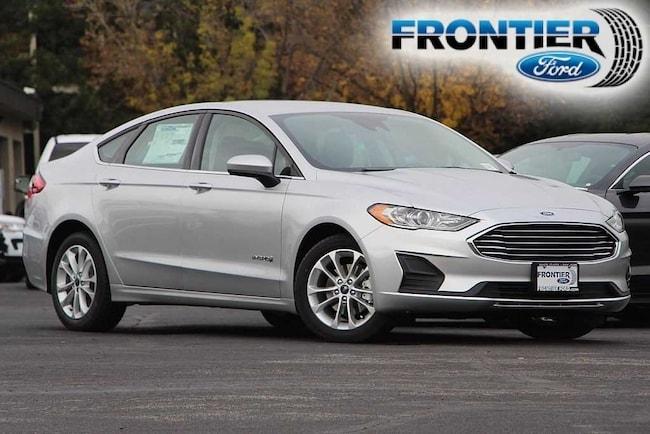 2019 Ford Fusion Hybrid SE Sedan 3FA6P0LU6KR115375