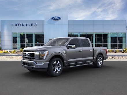 2021 Ford F-150 Lariat Truck SuperCrew Cab 1FTFW1E81MKE54166