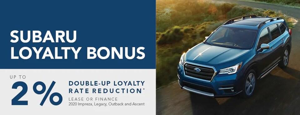 Subaru Loyalty Bonus