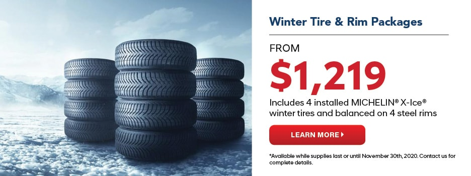 Winter Tire & Rim Packages