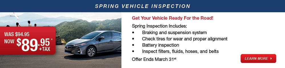 Spring Inpsection Service Promotion