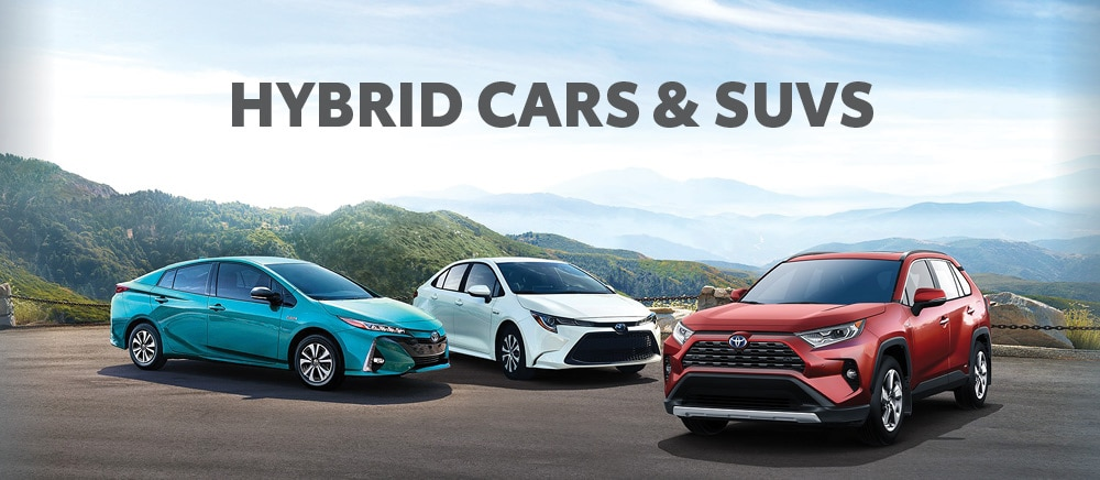 Toyota Hybrid Vehicles & SUVs
