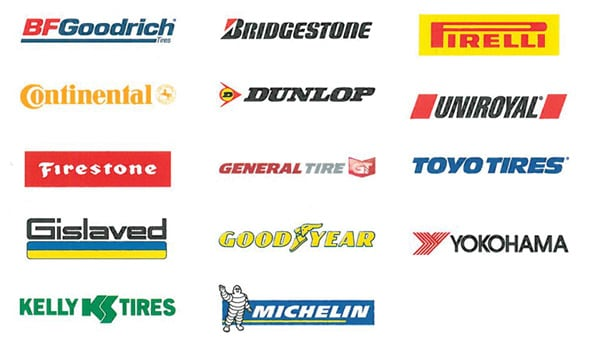 Canada's Top Tire brands