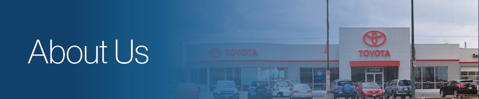 About Frontier Toyota Winnipeg