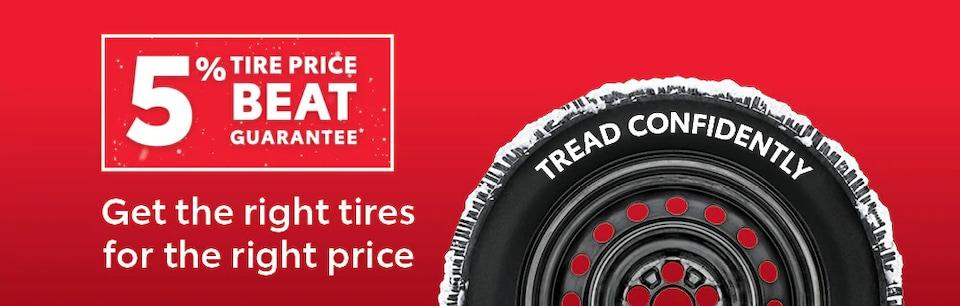 5% Tire Price Beat