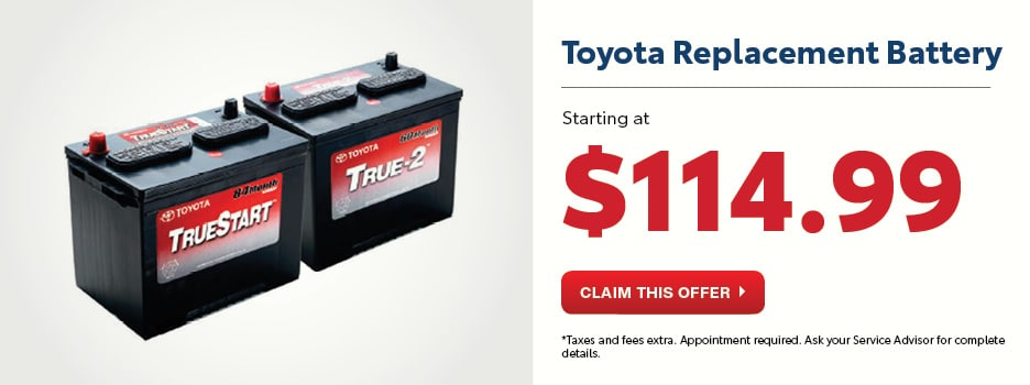 Toyota Replacement Battery
