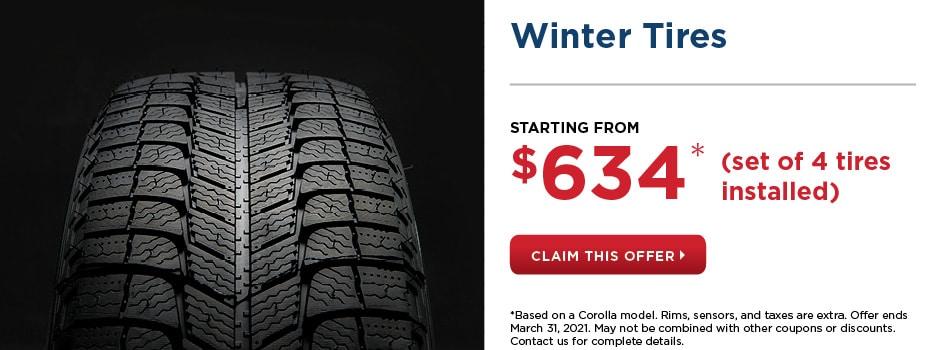 Winter Tires Offer