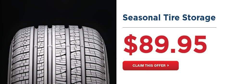Seasonal Tire Storage Offer