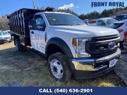 2020 Ford F-450SD 12' Dump with slatted sides Truck