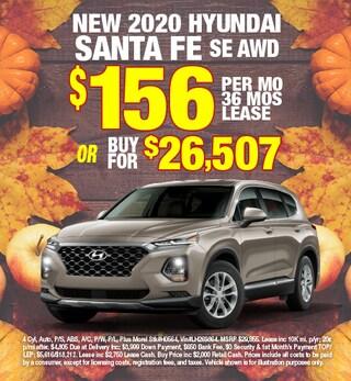 Hyundai Santa Fe Special Offer