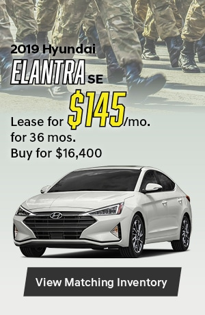 Hyundai Elantra SE Special Offer