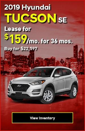 Hyundai Tucson SE Special Offer