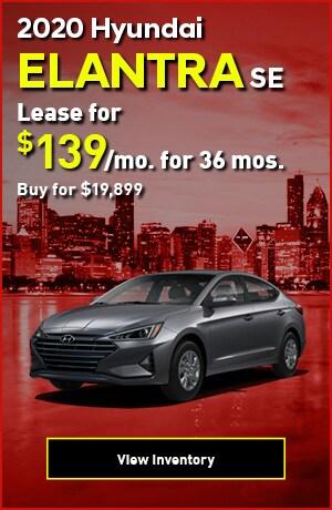 Hyundai Elantra SE Special Offer