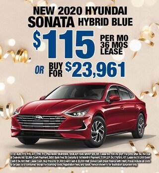 Hyundai Sonata Hybrid Special Offer