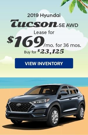 Hyundai Tucson SE AWD Special Offer