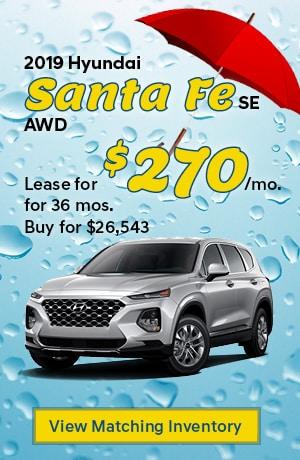 Hyundai Santa Fe SE AWD Special Offer