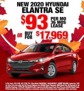 Hyundai Elantra Special Offer
