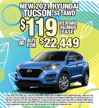 Hyundai Tucson Lease & Purchase Special Offer