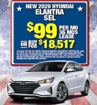 Hyundai Elantra Special Offer