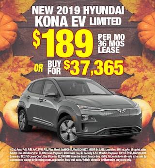 Hyundai Kona EV Special Offer