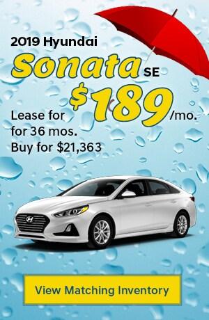 Hyundai Sonata SE Special Offer