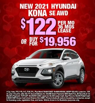 Hyundai Kona Special Offer