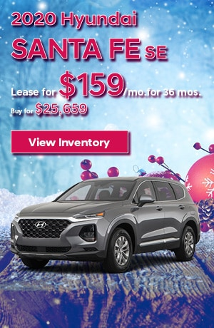 Hyundai Santa Fe SE Special Offer
