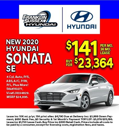 Hyundai Sonata Special Offer