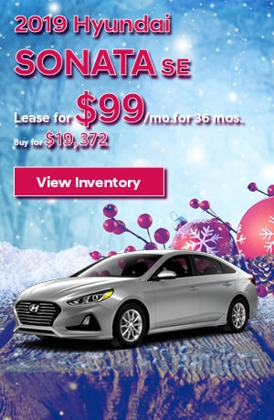 Hyundai Sonata SE Special Offer