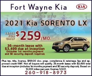 Brand New 2021 Kia SORENTO LX