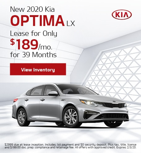 New 2020 Kia Optima | Lease Offer