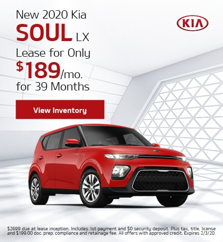 New 2020 Kia Soul | APR Offer