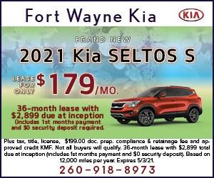 Brand New 2021 Kia SELTOS S