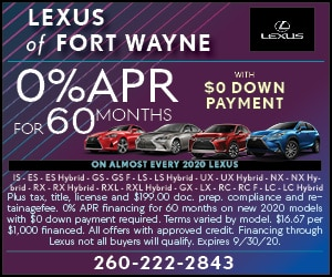 0% APR for 60 Months With $0 Down Payment
