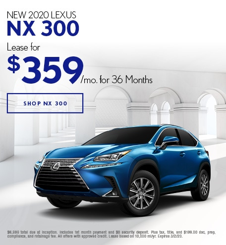 New 2020 Lexus NX 300 | Lease Offer