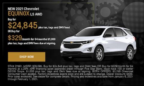 NEW 2021 Chevrolet Equinox LS AWD