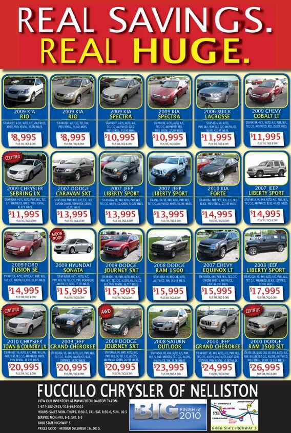 Current Ads | Fuccillo Chrysler Jeep Dodge RAM of Nelliston